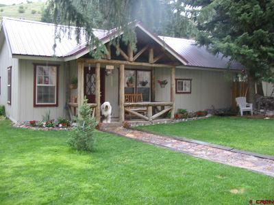 Creede Single Family Home For Sale: 1213 N Main Street