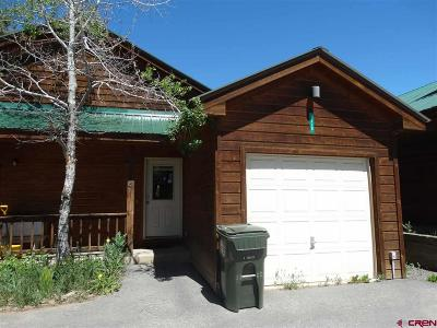 Pagosa Springs Condo/Townhouse For Sale: 311 E Golf