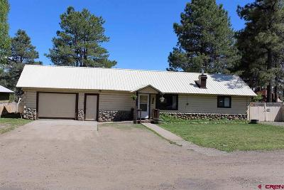 Pagosa Springs Single Family Home Back on Market: 119 Dayspring