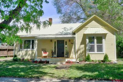 Paonia Single Family Home For Sale: 211 Poplar