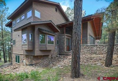 Pagosa Springs Single Family Home For Sale: 190 W Golf