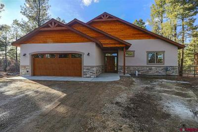 Pagosa Springs Single Family Home For Sale: 77 Balfour Court