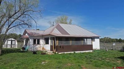 Ignacio Single Family Home For Sale: 1775 Cr 311