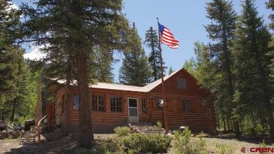 Creede Single Family Home For Sale: Usfs Road 535