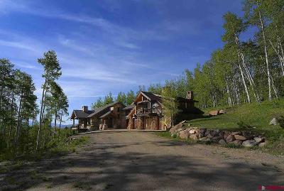Crested Butte CO Single Family Home For Sale: $4,500,000