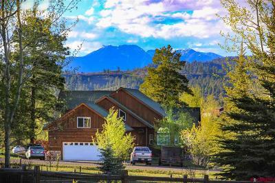 Pagosa Springs Single Family Home For Sale: 342 Horseshoe