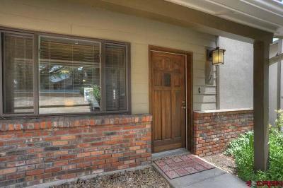 Durango Condo/Townhouse For Sale: 161 E 33rd #7