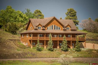 Pagosa Springs Single Family Home For Sale: 152 Carlee