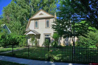 Hotchkiss, Crawford, Paonia Single Family Home For Sale: 318 North Fork