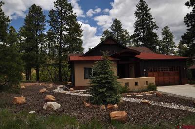 Durango Single Family Home For Sale: 240 Copper Rim Trl