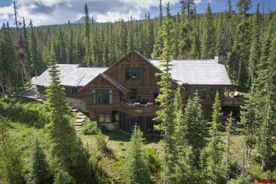 Crested Butte Single Family Home For Sale: 4980 Wildcat Trail