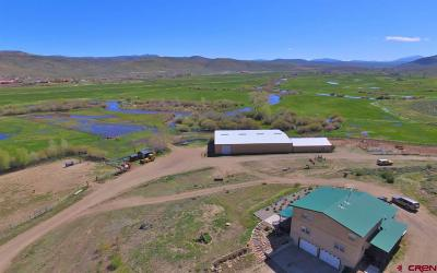 Gunnison Farm For Sale: 43990 Us Highway 50