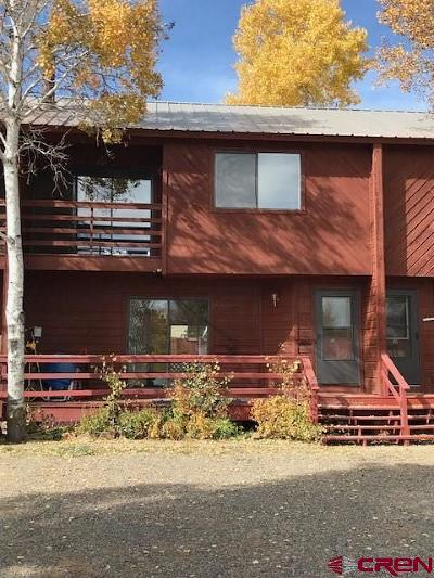 Pagosa Springs Condo/Townhouse For Sale: 401 E Golf