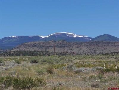 Del Norte Residential Lots & Land For Sale: 1701 Cattle Drive