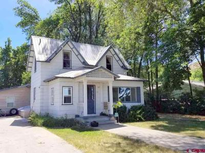 Hotchkiss, Crawford, Paonia Single Family Home For Sale: 115 Niagara Avenue
