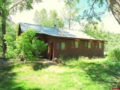 Pagosa Springs Single Family Home UC/Contingent/Call LB: 1001 Rainbow Road