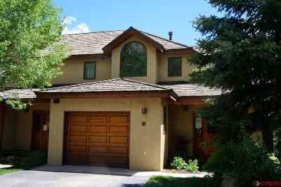 Crested Butte CO Condo/Townhouse For Sale: $779,000