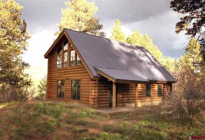Pagosa Springs Single Family Home For Sale: 3360 Trophy Lake Place