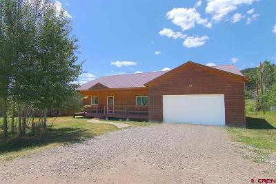 La Plata County Single Family Home For Sale: 18 Bad Mule