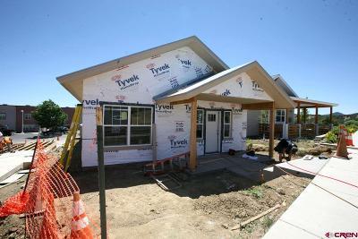 Durango Single Family Home For Sale: 587 Confluence