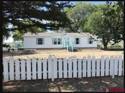 Hotchkiss, Crawford, Paonia Single Family Home For Sale: 30174 J
