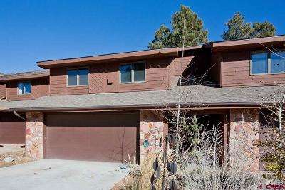 Durango Condo/Townhouse For Sale: 247 Pine Ridge Loop #C3