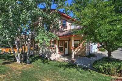Durango Condo/Townhouse For Sale: 325 Jenkins Ranch
