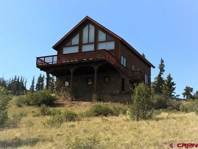 Creede Single Family Home For Sale: 28961 Hwy 149