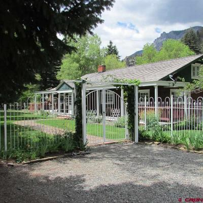 Ouray County Single Family Home For Sale: 101 6th