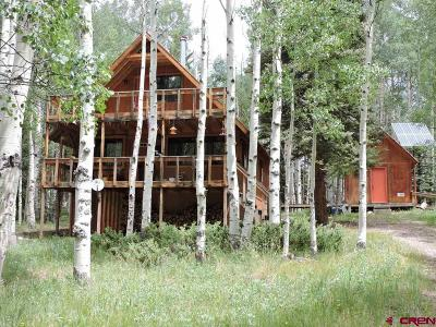 Del Norte Single Family Home For Sale: 743 Elk