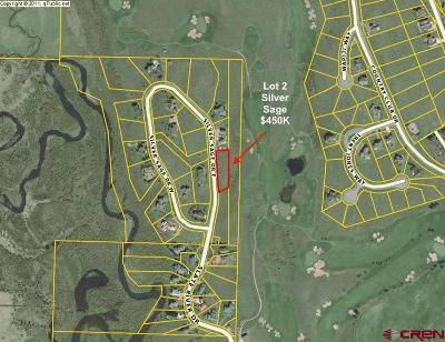 Silver Sage Residential Lots & Land For Sale: 120 E Silver Sage Drive