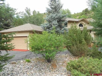 Durango CO Single Family Home For Sale: $564,900