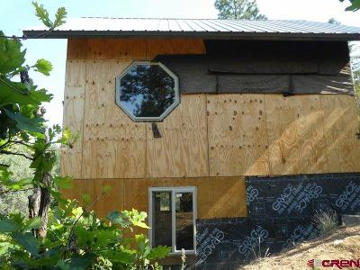 Pagosa Springs Single Family Home For Sale: 59 Sara Dipity