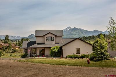 Pagosa Springs Single Family Home For Sale: 161 Emerald