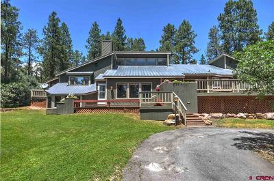 Durango CO Single Family Home For Sale: $579,000