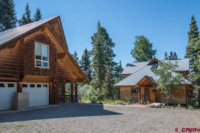 Durango Single Family Home For Sale: 670 Sawmill Road