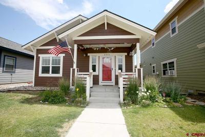 Durango Single Family Home NEW: 256 Sage View