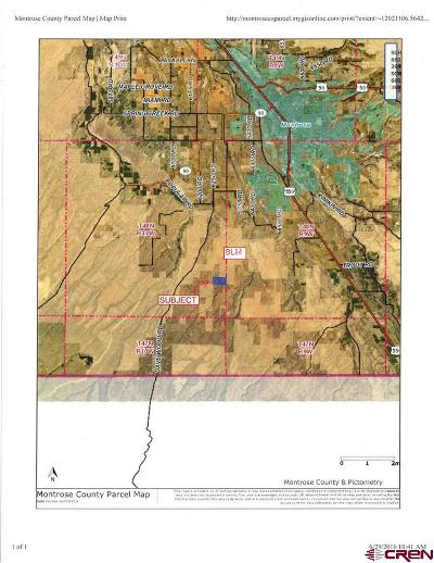 Montrose Residential Lots & Land For Sale: Tres Coyotes