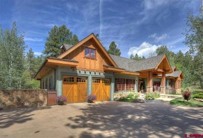 La Plata County Single Family Home For Sale: 758 Golden Dipper