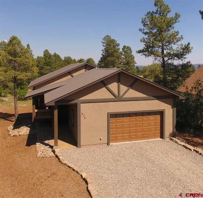 Pagosa Springs Single Family Home For Sale: 276 E Golf Place