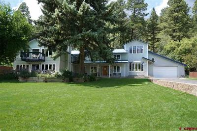 Durango Single Family Home For Sale: 6759 Cr 203