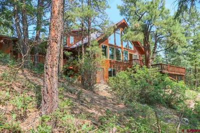 Pagosa Springs Single Family Home For Sale: 621 Cool Pines
