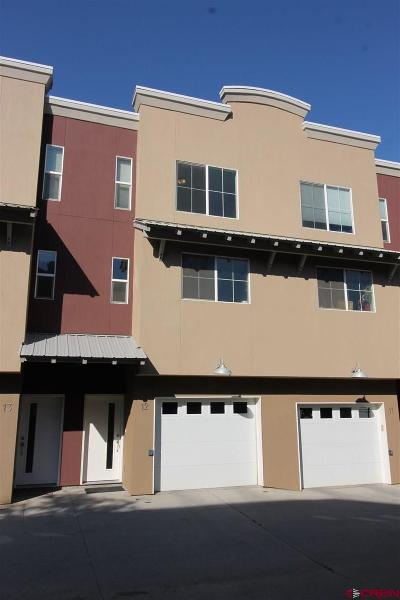 Durango Condo/Townhouse For Sale: 1140 Carbon Junction #12