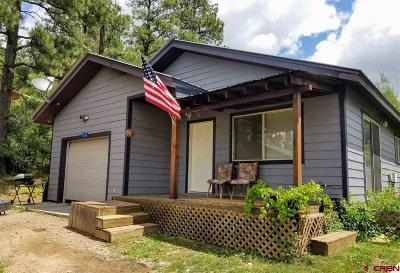 Bayfield Single Family Home For Sale: 574 Meadowbrook