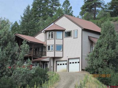 Pagosa Springs Single Family Home For Sale: 1221 Harvard