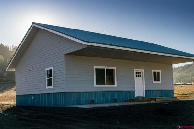 Pagosa Springs Single Family Home For Sale: 20 Kirks