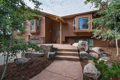 Durango CO Single Family Home For Sale: $489,000