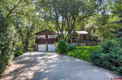 Durango CO Single Family Home For Sale: $559,900