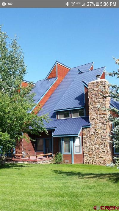 Pagosa Springs Condo/Townhouse For Sale: 175 Wildwood #Unit 1