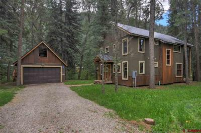 Durango Single Family Home For Sale: 189 High Trails